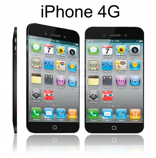 "iPhone 5 Mockup: Das ""iPhone 4G"" von rino0815"