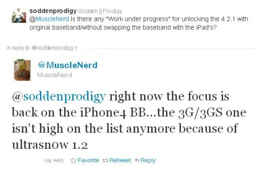 Musclenerd: iPhone 4 Unlock in der Mache