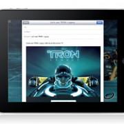 Tron iAd für iPad