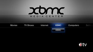 XMBC am Apple TV