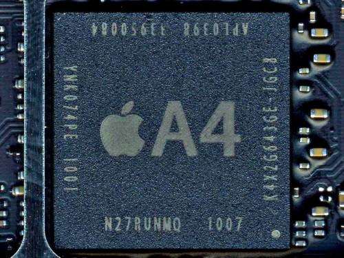 der bisherige A4 Chip