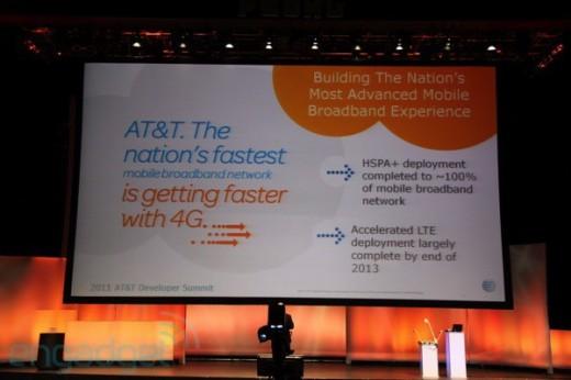 Präsentation zum neuen AT&T 4G Netzwerk