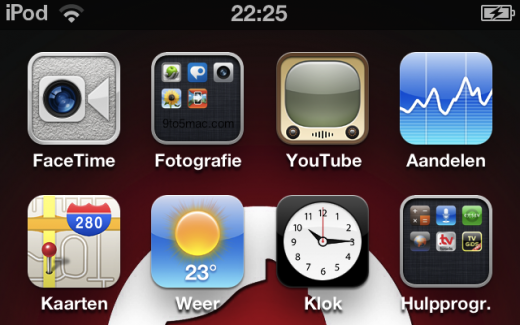 Neues Facetime-Icon in iOS 4.3