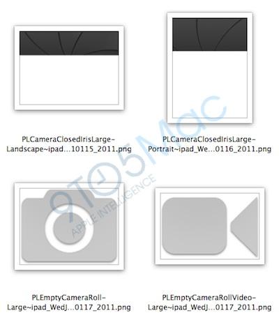 iOS 4.3b1: Hinweise auf Kamera und 1024x768 Display