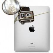 Wenn das iPad 2 eine Kamera bekommt, sieht das hoffentlich nicht so aus. ;)