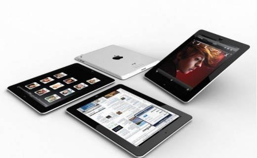 So könnte das iPad 2 aussehen