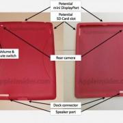 iPad 2 Case mit neuen Aussparungen