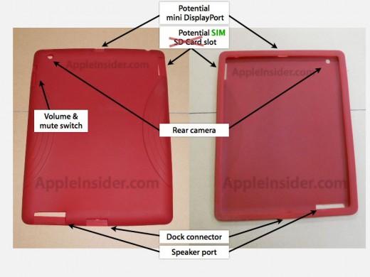iPad 2: Ist der vermeintliche SD-Karten-Platz nur der SIM-Karten Einschub?