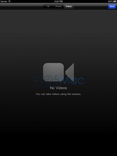 iPad 2 Kamera App?
