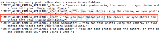 Neue Hinweise auf iPad 2 Kamera