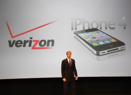 Verizon Wireless stellt das erste CDMA iPhone 4 vor.