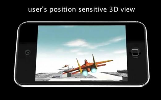 Bekommt der iPod Touch ein 3D-Display für die Betrachtung ohne 3D-Brille?