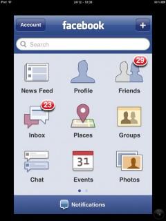RetinaPad Screenshot: Hochauflösende Anzeige von Retina-Apps am iPad