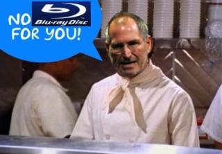 "Jobs als ""Soup Nazi"" in Seinfeld"