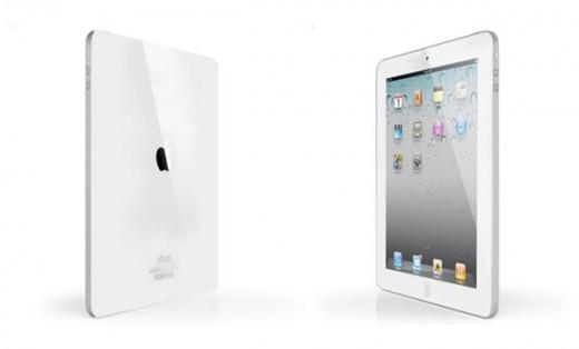 Mockup: iPad 2 in Weiß