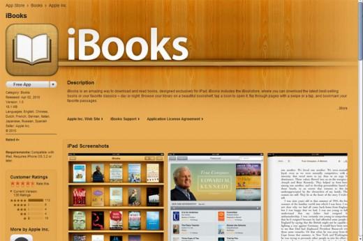 iBooks die die Software überprüfen... sehr suspekt