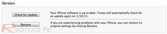 """10. Schritt: iTunes ausführen und das gewünschte iDevice in der Sidebar (Seitenleiste) anklicken. Jetzt mit gedrückter linker """"Alt"""" Taste (Mac-Keyboard; linke Shift-Taste am Windows-Keyboard) auf Wiederherstellen (""""Restore"""") – nicht """"Update"""" oder """"Nach Updates suchen"""" (""""Check for Update"""")! – klicken."""