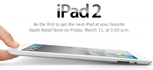 iPad 2: Be the first...
