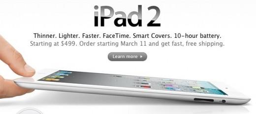 iPad 2 vorbestellen