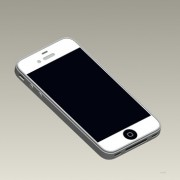 iPhone 5 Mockup mit 4 Zoll Display
