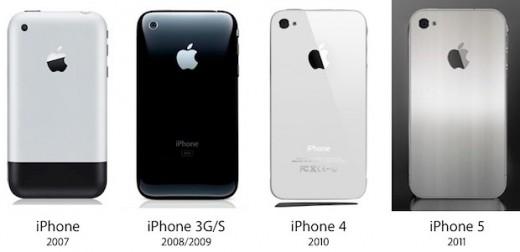 iPhone Evolution: Geht Apple mit dem iPhone 5 wieder zurück zum Metall-Gehäuse?