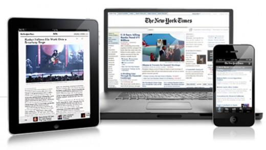 New York Times mit iOS-App und über Web