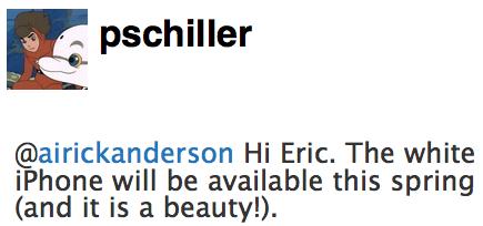 Phil Schiller zum weißen iPhone 4