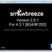 Sn0wbreeze 2.5.1