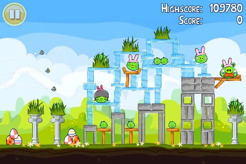 Angry Birds Seasons: 15 neue Levels für Ostern