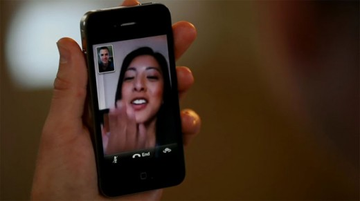 FaceTime am iPhone 4