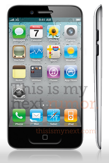 iPhone 5 Mockup von ThisIsMyNext