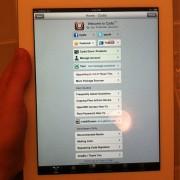iPad 2 Jailbreak-Beweis von comex