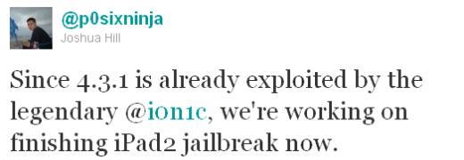 iPad 2 Jailbreak in Arbeit