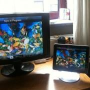 Video-Spiegelung ist auch mit dem iPad 1 möglich