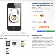 iPhone Unlock via Webservice?