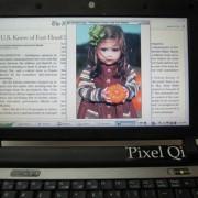 Hybrid-Display von Pixel Qi: LCD-Modus