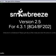 Sn0wbreeze 2.5 für Windows bringt den untethered iOS 4.3.1 Jailbreak