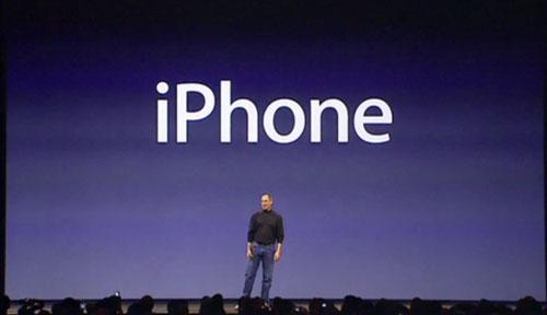 Steve Jobs bei der jährlichen iPhone-Keynote