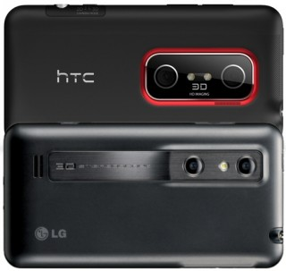 3D-Kameras am HTC Evo 3D