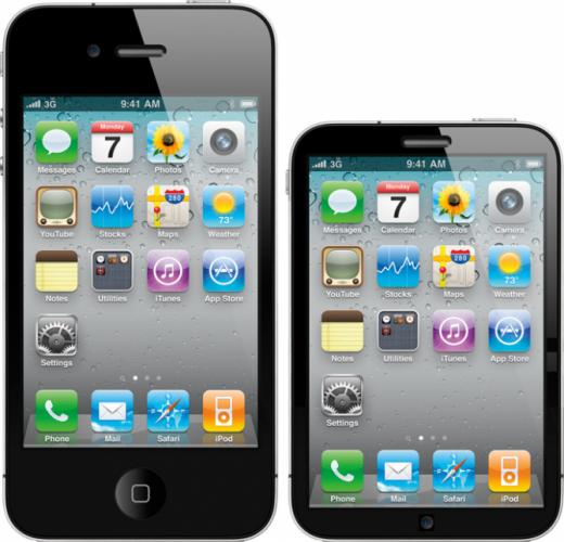 Mockup: Wird das iPhone 5 kleiner und dünner?