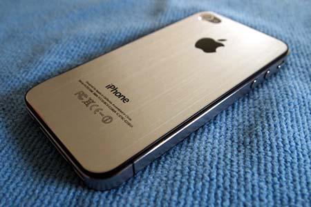 Das iPhone 5 soll Gerüchten zufolge eine Metallrückseite bekommen.