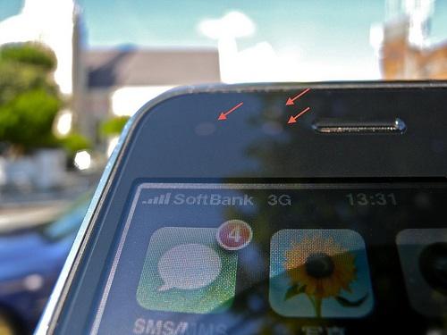 iPhone Annäherungs- und andere Sensoren