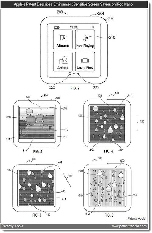 iPod Nano mit Chamäleon-Screensaver?