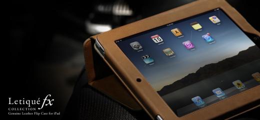 More-Thing Letiqué FX Collection Ledercase für iPad