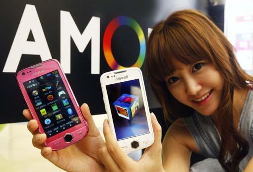 Samsung ist Martführer im Bereich von active-matrix organic LED Technologie, kurz AMOLED.