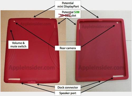 Eines der iPad 2 Cases, die durch das Leak bereits vor Veröffentlichung des iPad 2 gefertigt werden konnten.