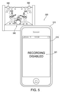 Apple-Patent: Kamera-Sperre über Infrarot-Signale