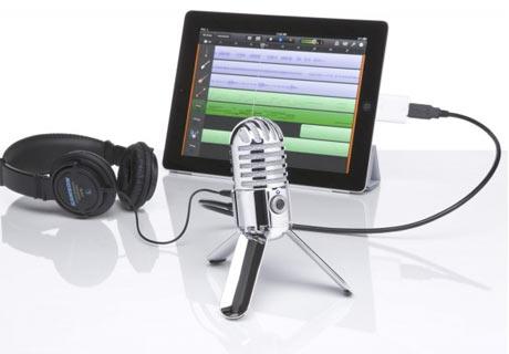 Meteor Mic: Professionelle Aufnahmen mit dem iPad
