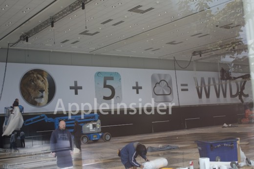 iCloud Icon am WWDC 2011 Banner