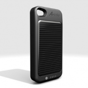 A-Solar Power Pack Akku-Case für iPhone 4